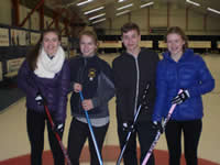 Junior league curling photo